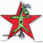 WIZO: Embroided patch: Fert in a star