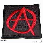 Sexypunk: Embroided patch: anarchysign