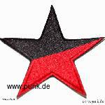 Embroided patch: anarchostar